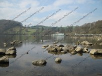 The pier near Pooley Bridge at the Northern end of Ullswater