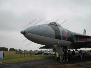 Avro Vulcan XJ823 was a reserve plane during the Falklands conflict