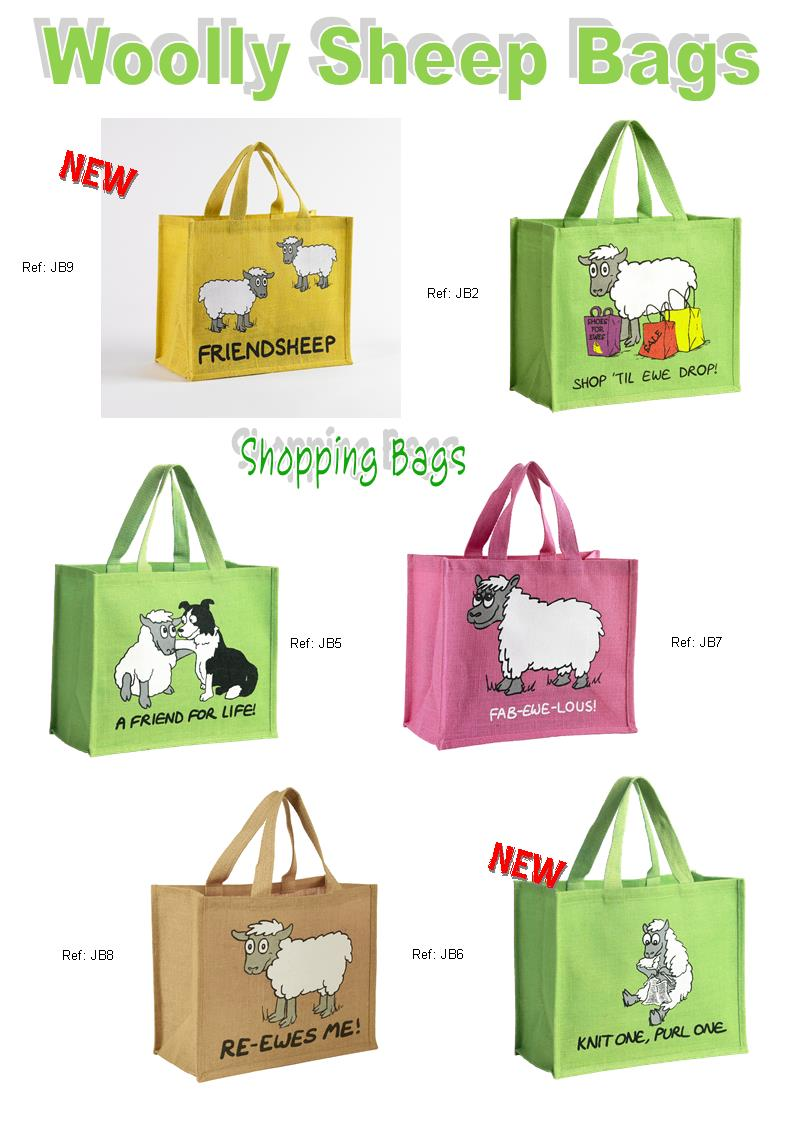Woolly Sheep Shopping Bags Heritage Cards Amp Souvenirs Ltd
