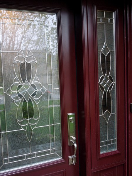 Post renovation - Front door closeup