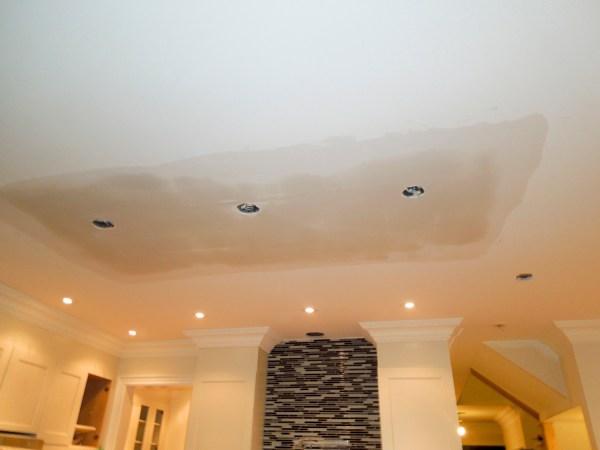 Ceiling renovation