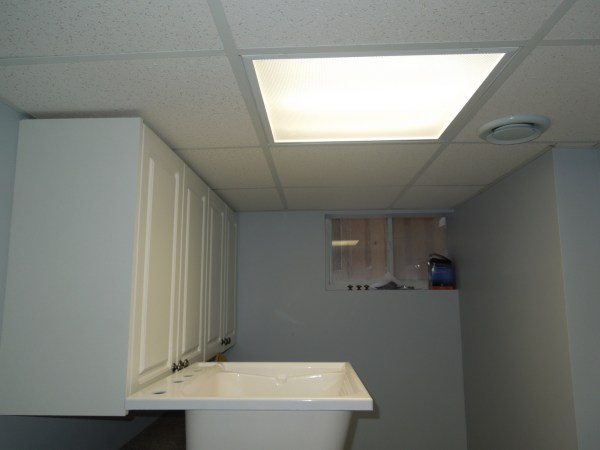 Basement renovation - Ceiling