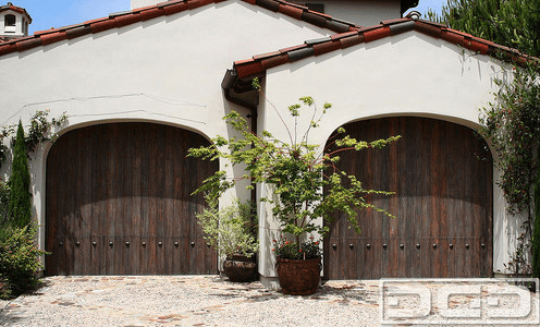 Spanish Style Garage Doors