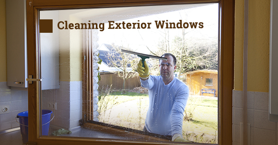 Exterior Windows Cleaning Tips