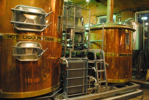 Best Breweries in Ohio - Fermentation Tanks at Maumee Bay Brewing Co