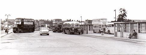 Spalding Bus Station 1960
