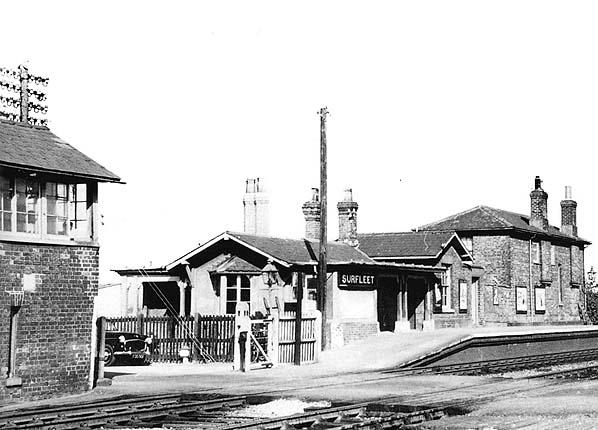 Surfleet Railway Station 1959
