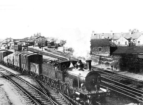 Departure from Spalding Railway Station 1927