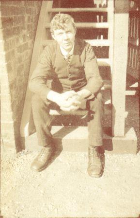 Gerard Ofield Stubbs at Surfleet Signal Box