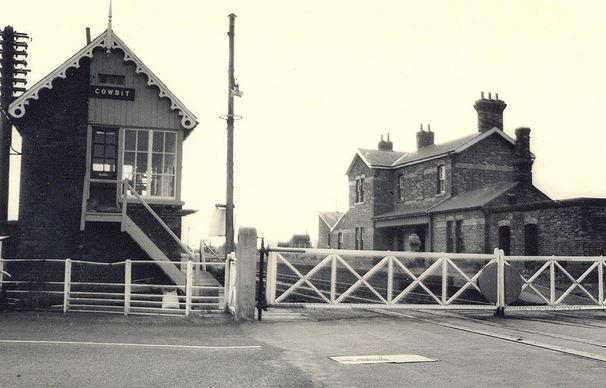 Cowbit Railway Station Signal Box