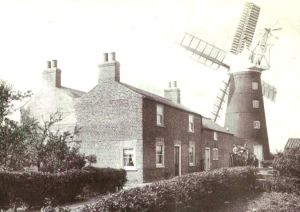 AOS P 1508 Biggadike's Mill which stood down Further Old Gate, off Fen Road. holbeach