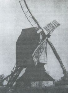 AOS P 1619 crowland post mill 1905