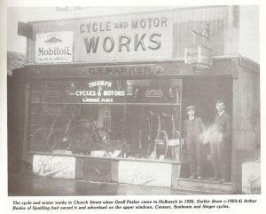 AOS P 1738 HOLBEACH g parker cycles, church street