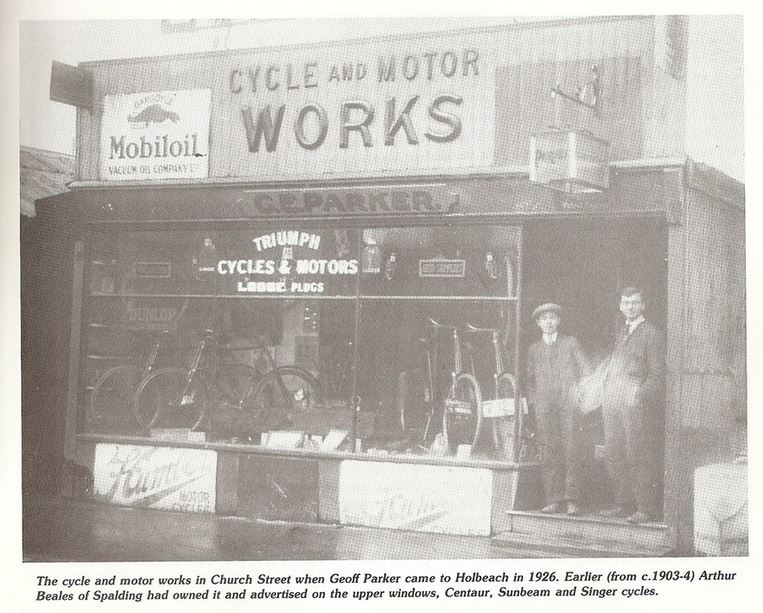 G. Parker Cycle & Motor works Holbeach