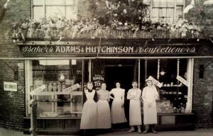AOS P 1933 adams and hutchinson bakers and confectioners new road, spalding