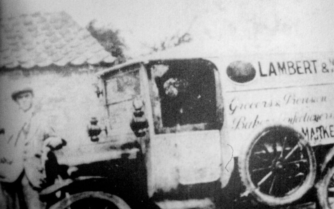 Lambert & kisby Delivery Van, Market Deeping 1911