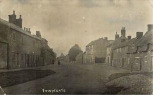 AOS P 1857 Market Deeping. Towngate 1910s