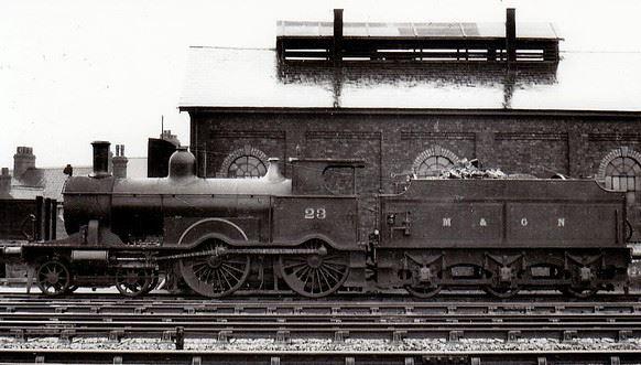 M&GN-23- Beyer Peacock EMR Class A at Spalding