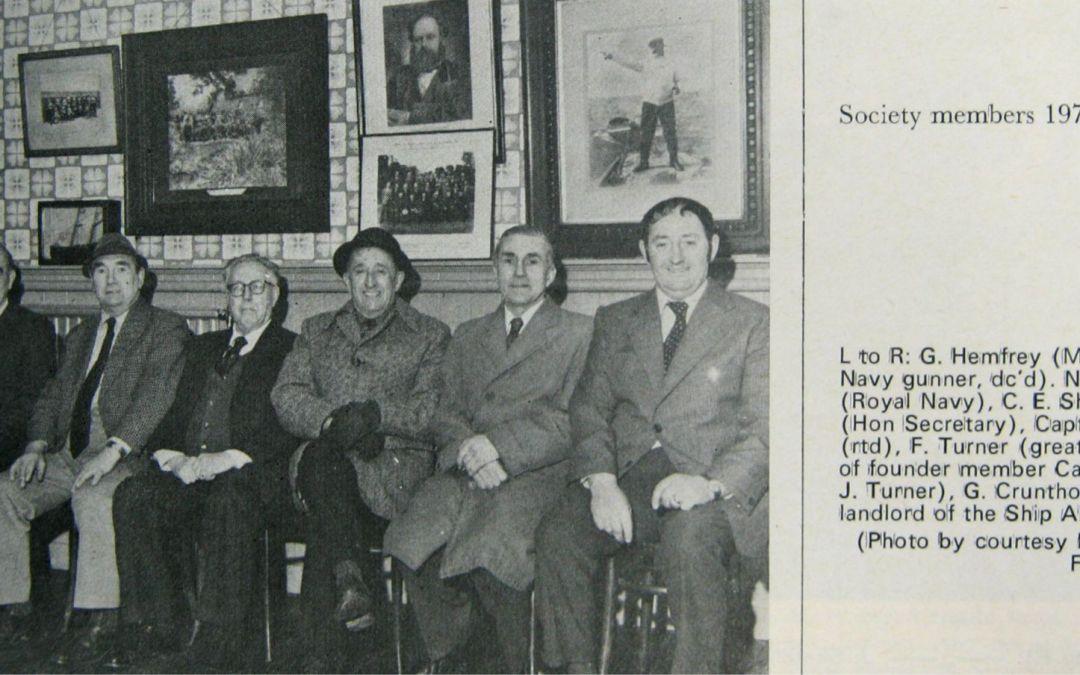 Spalding Shipwreck Society Members 1976