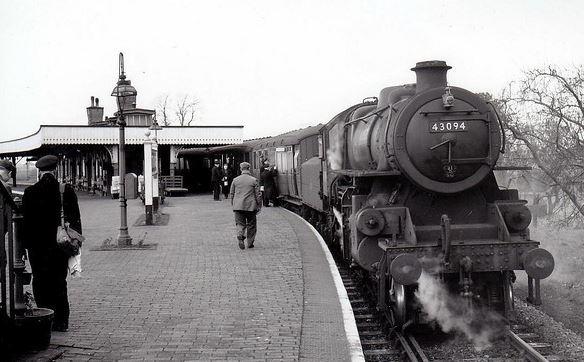 Sutton Bridge Station one week before closure