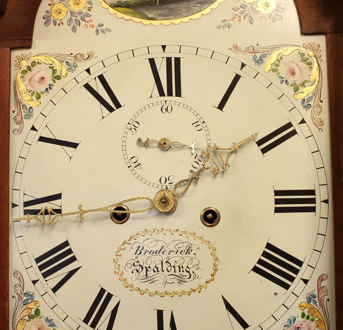 The Broderick family of clockmakers in Spalding