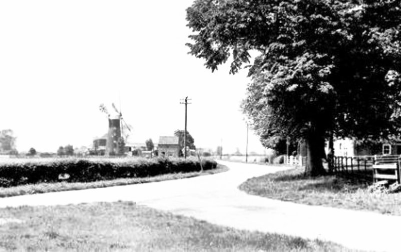 Penny Hill Mill,  Holbeach 1934