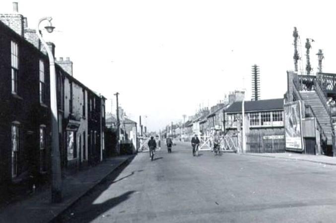 Spalding Railway Crossing 1950″s