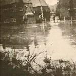 Flooding at base of Herring Lane