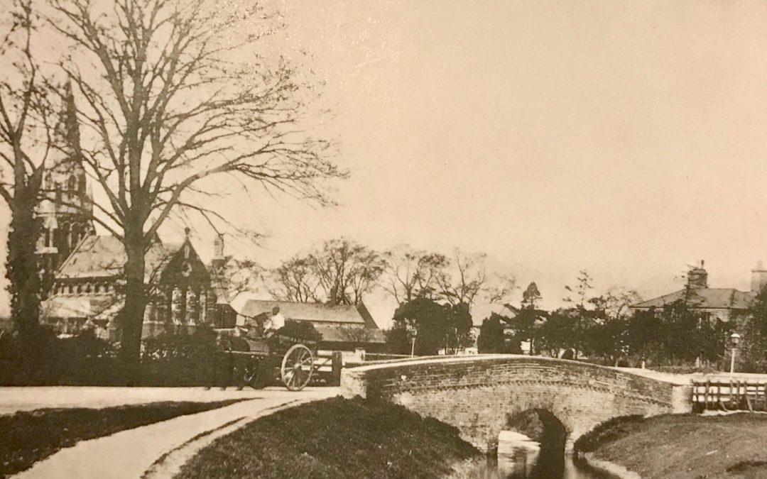 Fulney Bridge and St Paul's c 1900
