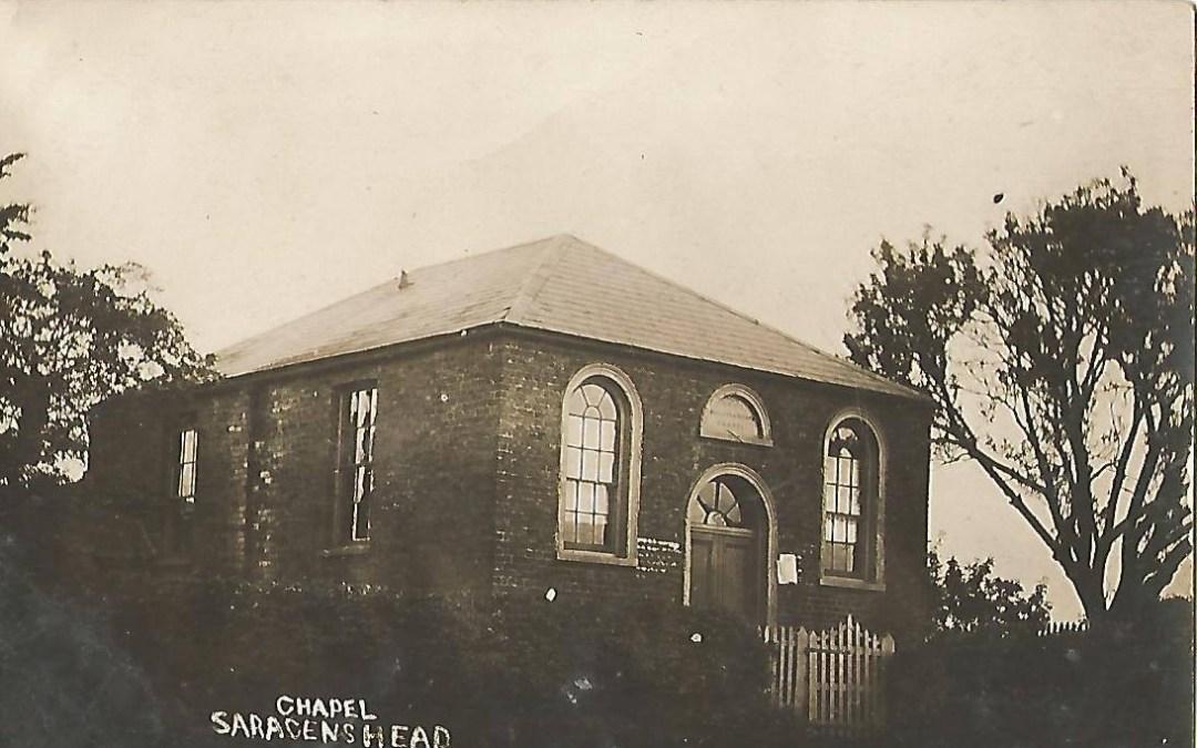 Chapel at Sacrens Head