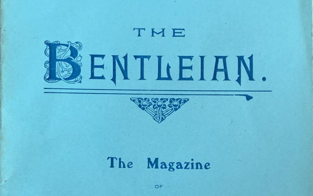 Spalding Grammar School Bentleian magazine