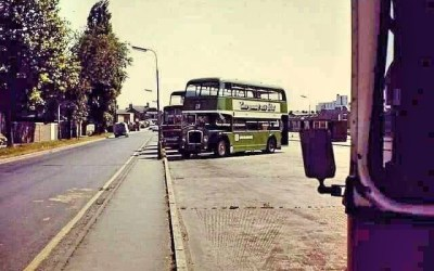 Spalding Bus Station in the hey day of bus travel