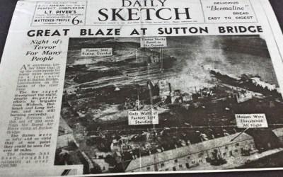 Great Blaze at Sutton Bridge
