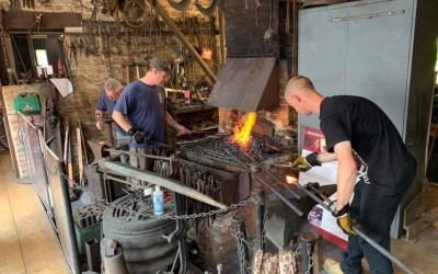 Blacksmithing Club Starts