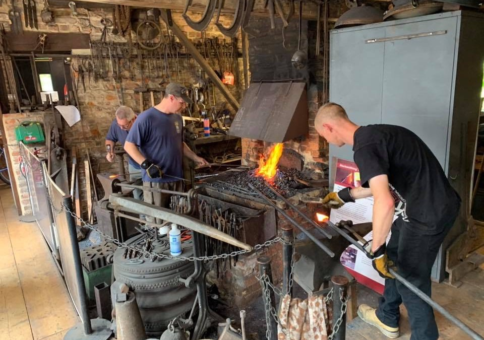 Blacksmithing Club Starts