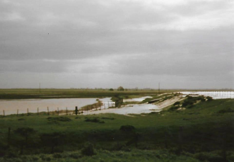 Crowland Flooding in 1998