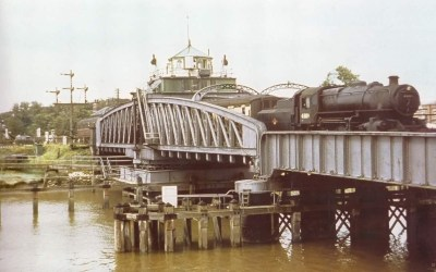 The Railway at Sutton Bridge