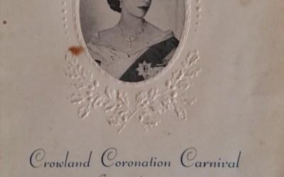 Crowland Coronation Carnival – 1953