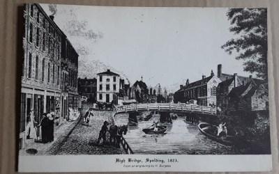High Bridge in Spalding pre 1835