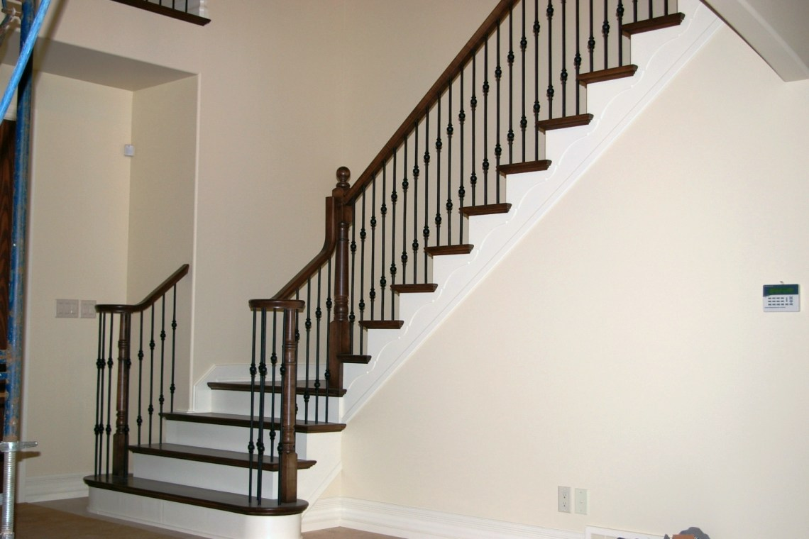 Image Result For Stair Railing Metal And Wood