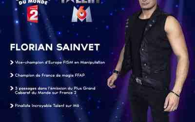 Florian Sainvet au festival de l'Héritier de l'Illusion