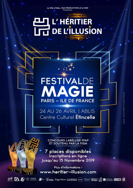 Affiche concours régional de l'héritier de l'illusion 2020
