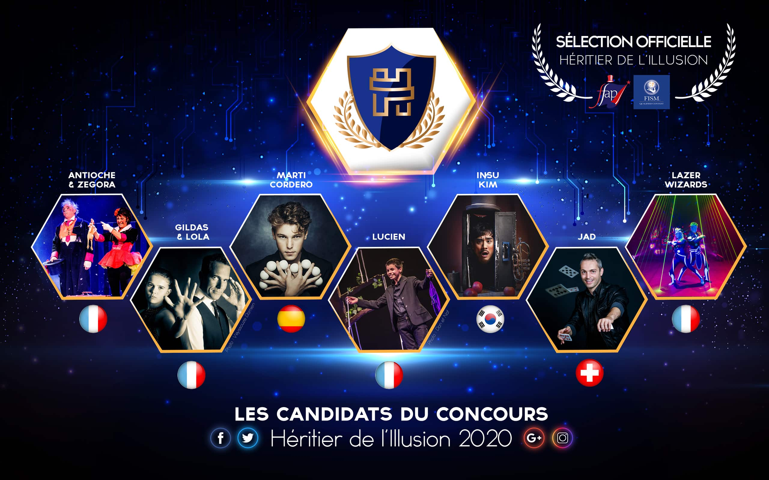 candidats sélection officielle 2020 International contest