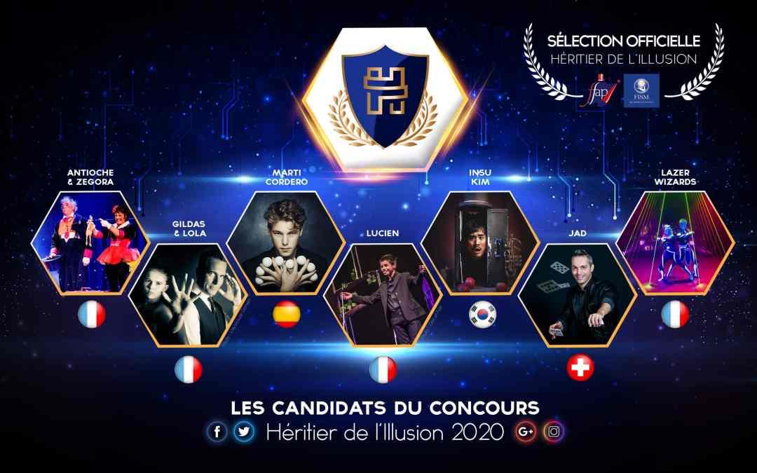 candidats sélection officielle 2020 International contest