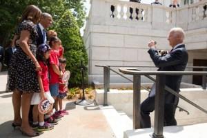 Obama bij Arlington