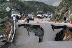 Highway 1 Shutdown