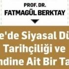 Konferans: Türkiye'de Siyasal Düşünce Tarihçiliği
