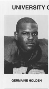 Germaine Holden [Photo from Notre Dame football program]