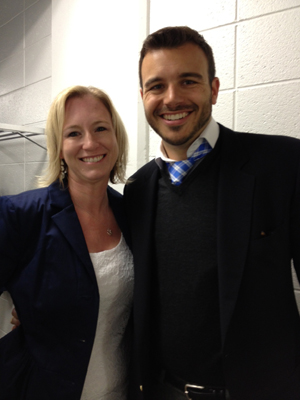 USA Network producer, Charlie Ebersol