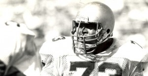 1987 Fighting Irish Captain Byron Spruell